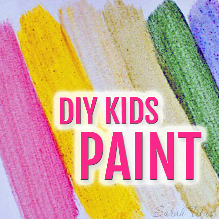 Sometimes making your own items can be just as fun as using them. Today, we're making DIY Kids Paints. You can even make them aromatherapy by adding essential oils to them!