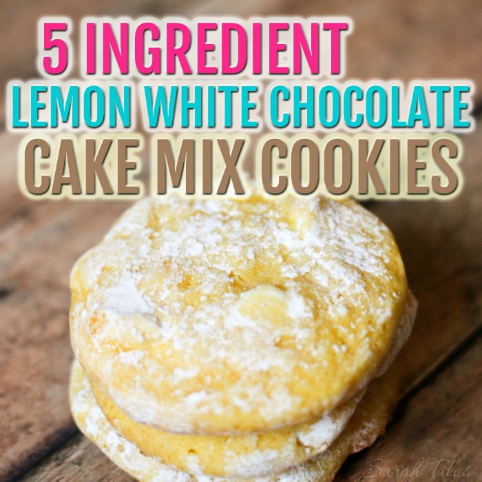 These cookies are sweet with just the right amount of lemony tartness. They'll literally melt in your mouth!
