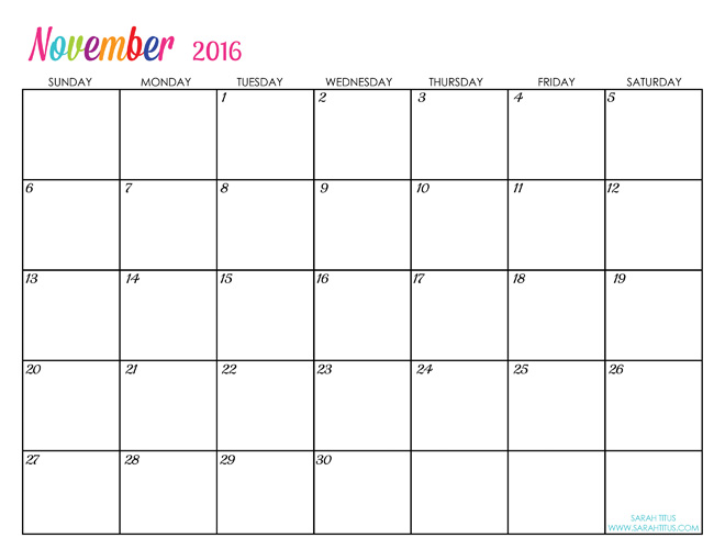 Looking for Free Printable 2015 Calendars? Click to access them!