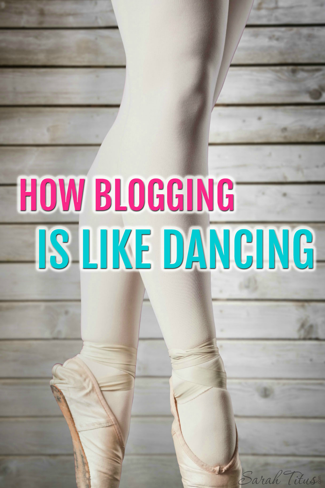 How Blogging is Like Dancing