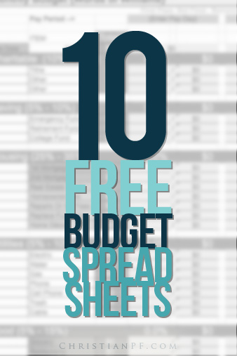 Not just for your monthly expenses, there are some great FREE printables here for a get out of debt budget, and even one to make your wedding budget!