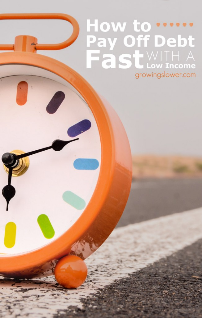 When you have a low income it can feel at times like you will never get out of debt. This is an excellent article that proves that it can be done! Great motivation for anyone in this situation!
