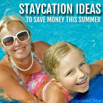 Taking a staycation can save you thousands of dollars and if you plan it right, your family can have just as much fun! Check out these staycation ideas to save money this summer.