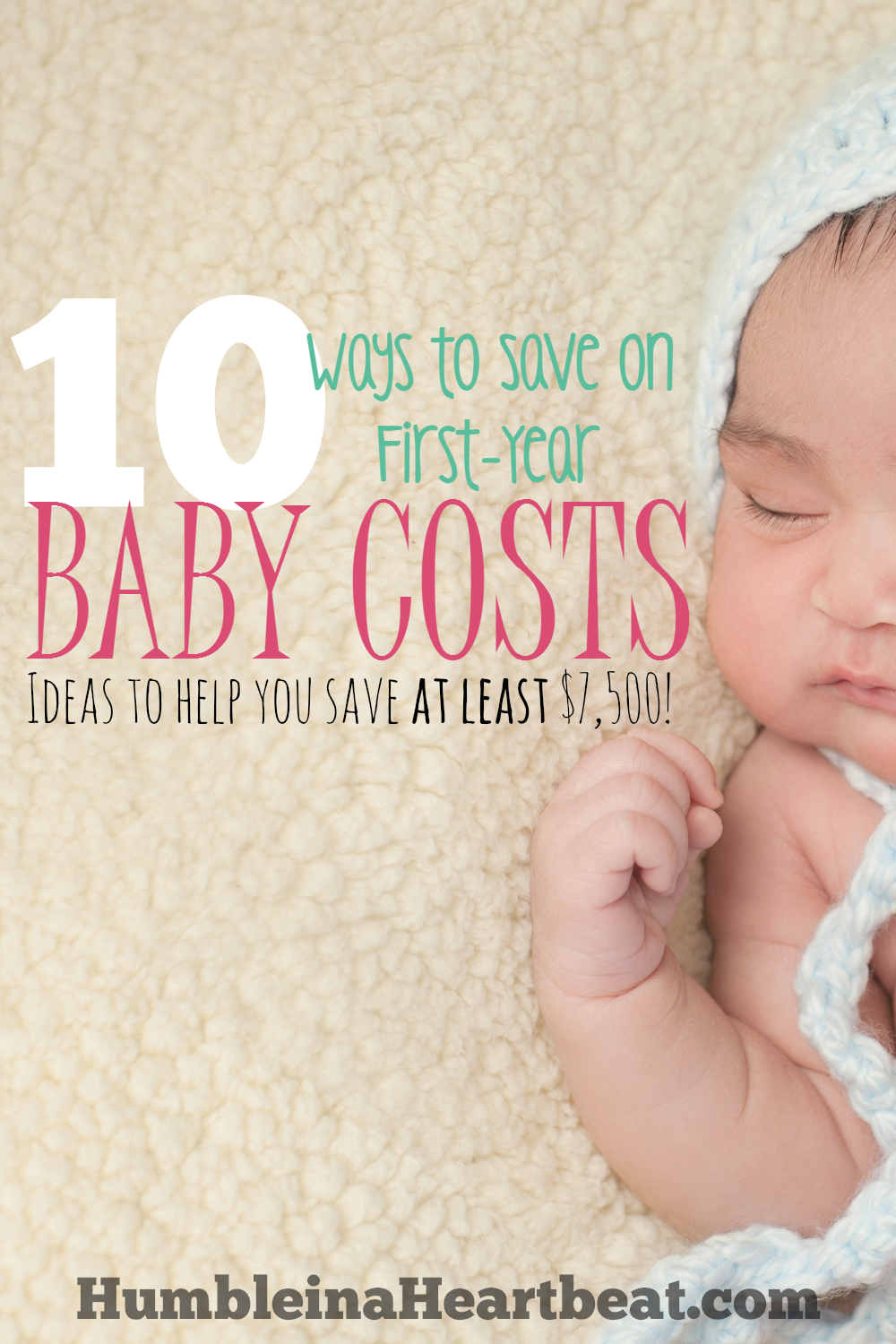 Kid's don't have to be expensive. Here's an incredibly detailed list of all the ways you can save in baby's first year. Love this!