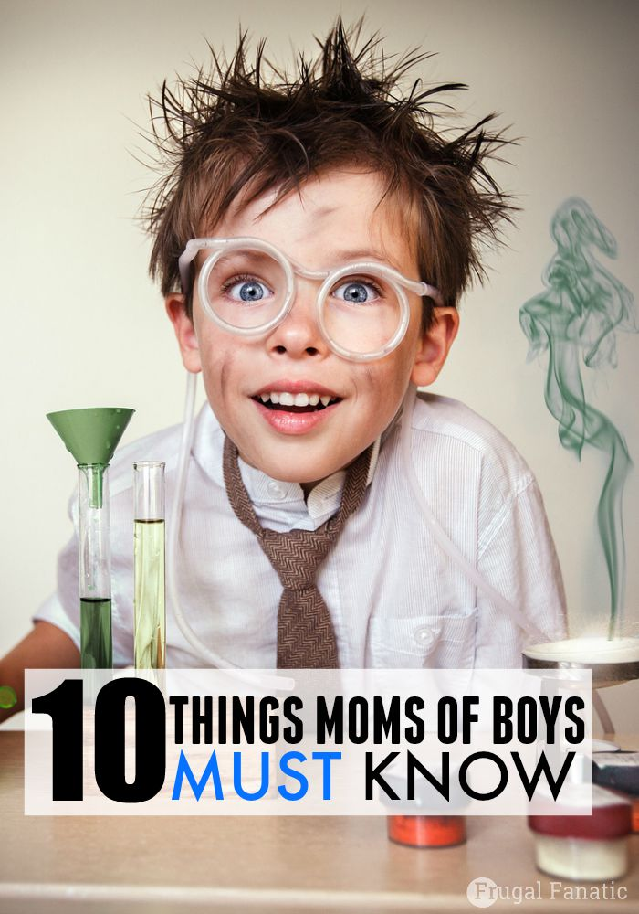 As a mom of a boy, this list made me laugh! Boy moms I think you will also be nodding your heads in agreement!