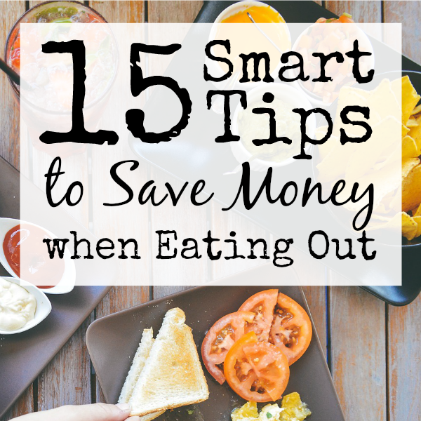 Eating out can be really expensive, but it is nice to have a break from cooking every now and then! These 15 tips will allow you to eat out without breaking the budget!