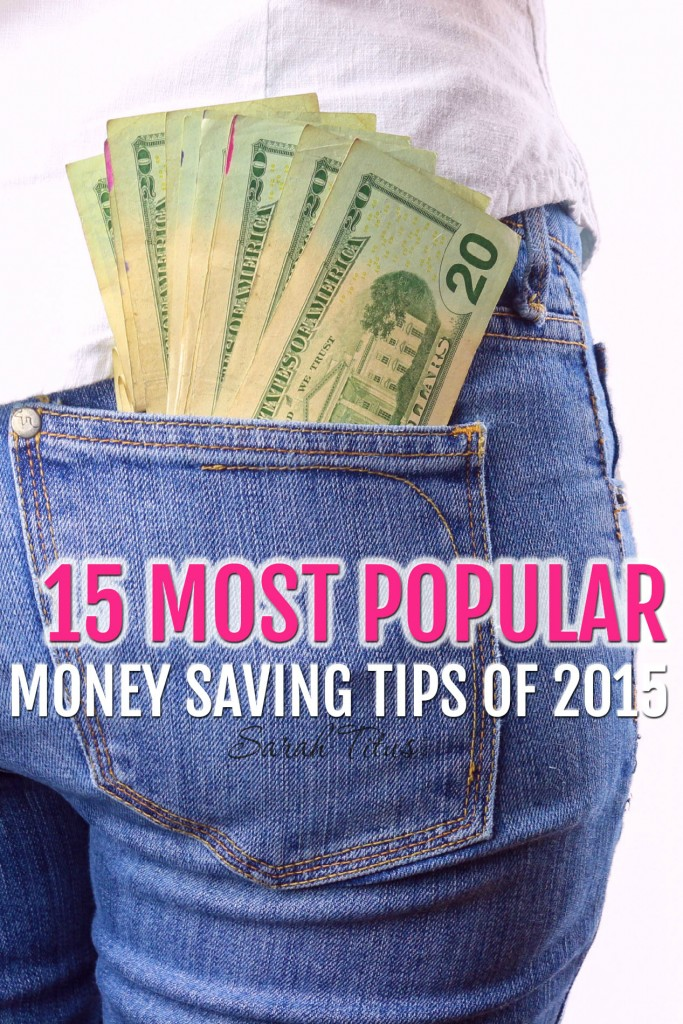 I spent several days mulling through a lot of articles and using online tools to research which were the most popular posts. Here are the 15 most popular money saving articles of 2015.