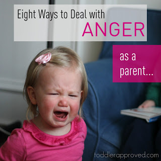 We all feel angry sometimes! But, as the adult, it is good to have a reminder on how to deal with our anger!