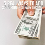 As a single mom, it's my job to provide for my family, but I'm not about to let a babysitter raise my kids. I've been making money from home for 17 years now and I'd love to show you my top 5 favorite ways to add $500/month steady income!