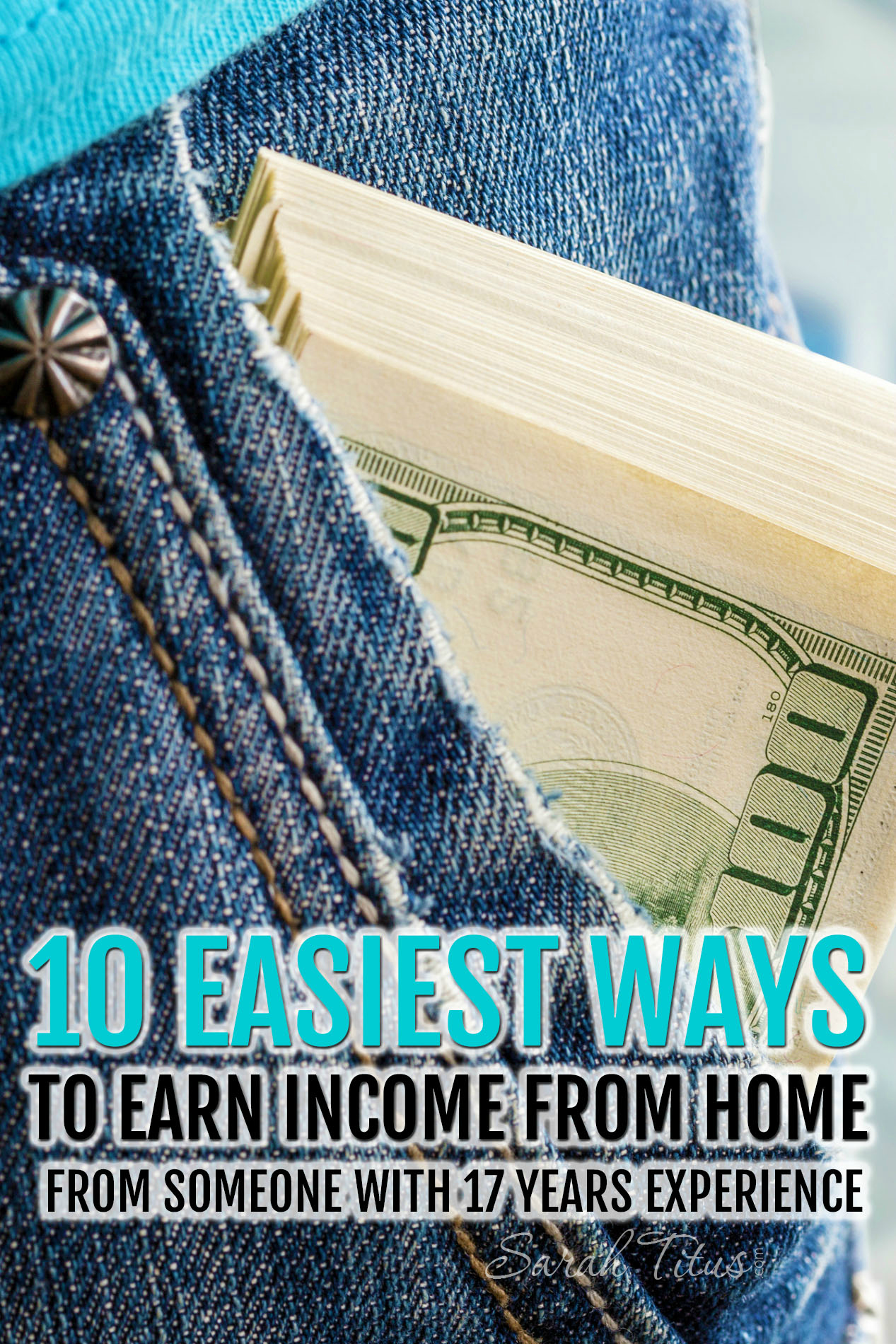 As a single SAHM, I've had the privilege of getting to know the myriad of ways in which to earn extra income from home. Here are my top 10 favorites.