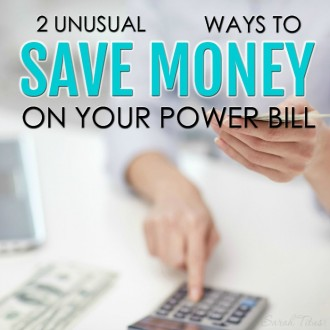 If you're looking to save money on your power bill, you might automatically think of changing your lightbulbs to fluorescents or sealing your windows and doors, but there's a lot more to saving money on your power bill than that. Here are 2 unusual ways to save money on your power bill that you probably have missed.