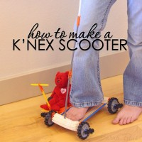 How to Make a Knex Scooter