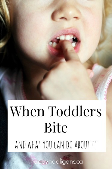 Nobody wants to have a child bite (or get bitten!) Great tips on how to stop this problem behavior