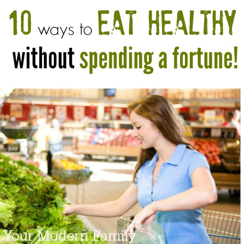 Natural and healthy groceries can seem to expensive and out of reach, but you can save money and buy healthy food too!