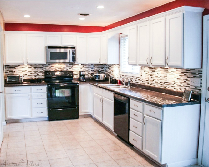 How to remodel your kitchen on a budget sarah titus for Kitchen cabinets on a budget