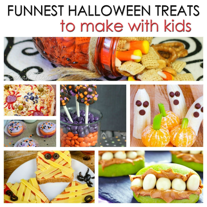 Funnest halloween treats to make with kids sarah titus for Halloween treats to make with kids