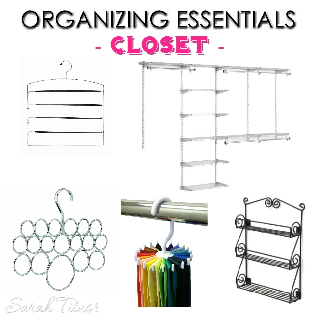 Organizing Essentials - A Guide to Organizing Everything You Own