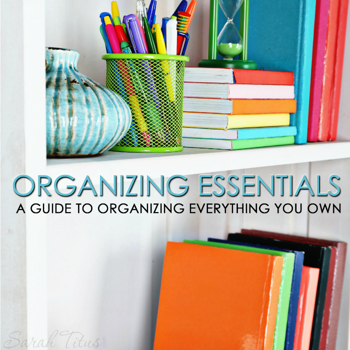 Organizing your home can be so difficult. You have no idea where to begin or how to organize your home in a way that makes sense. This organizing essentials guide is the perfect solution. With real life advice, this go-to guide covers almost everything you own! Get started now and say goodbye to clutter forever!