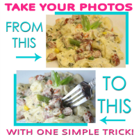 One Tip to Creating Beautiful Food Pictures