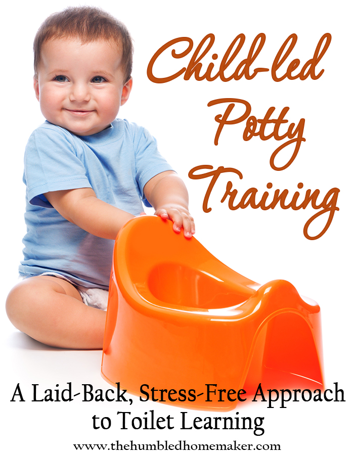 A great method for parents who are comfortable letting their child take the lead- learn about child led potty training here!