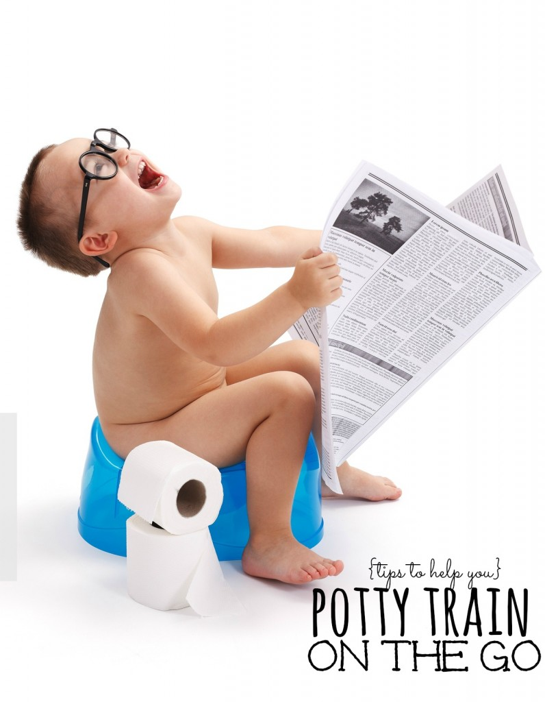 There is a lot of information out there for potty training at home, but what about when you are out and about? Addi has you covered!