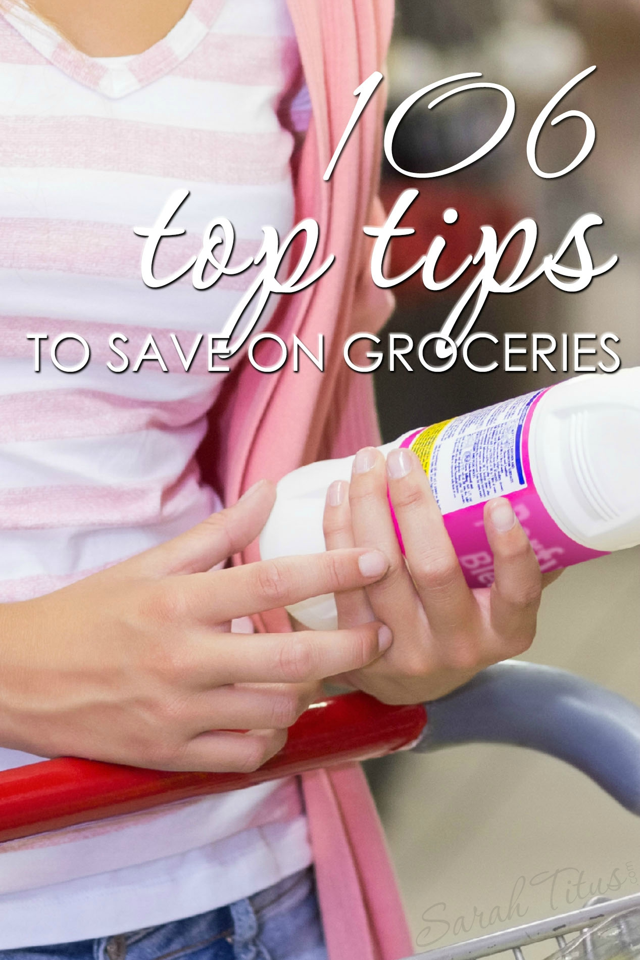 There are probably a gazillion ways to save money on groceries, but in scouring the internet, here are the 106 top tips to save on groceries, one of which was featured on the Rachael Ray show!