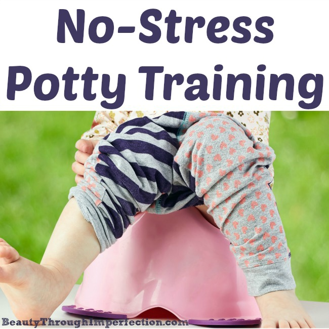 Stress free potty training? I like the sound of that!