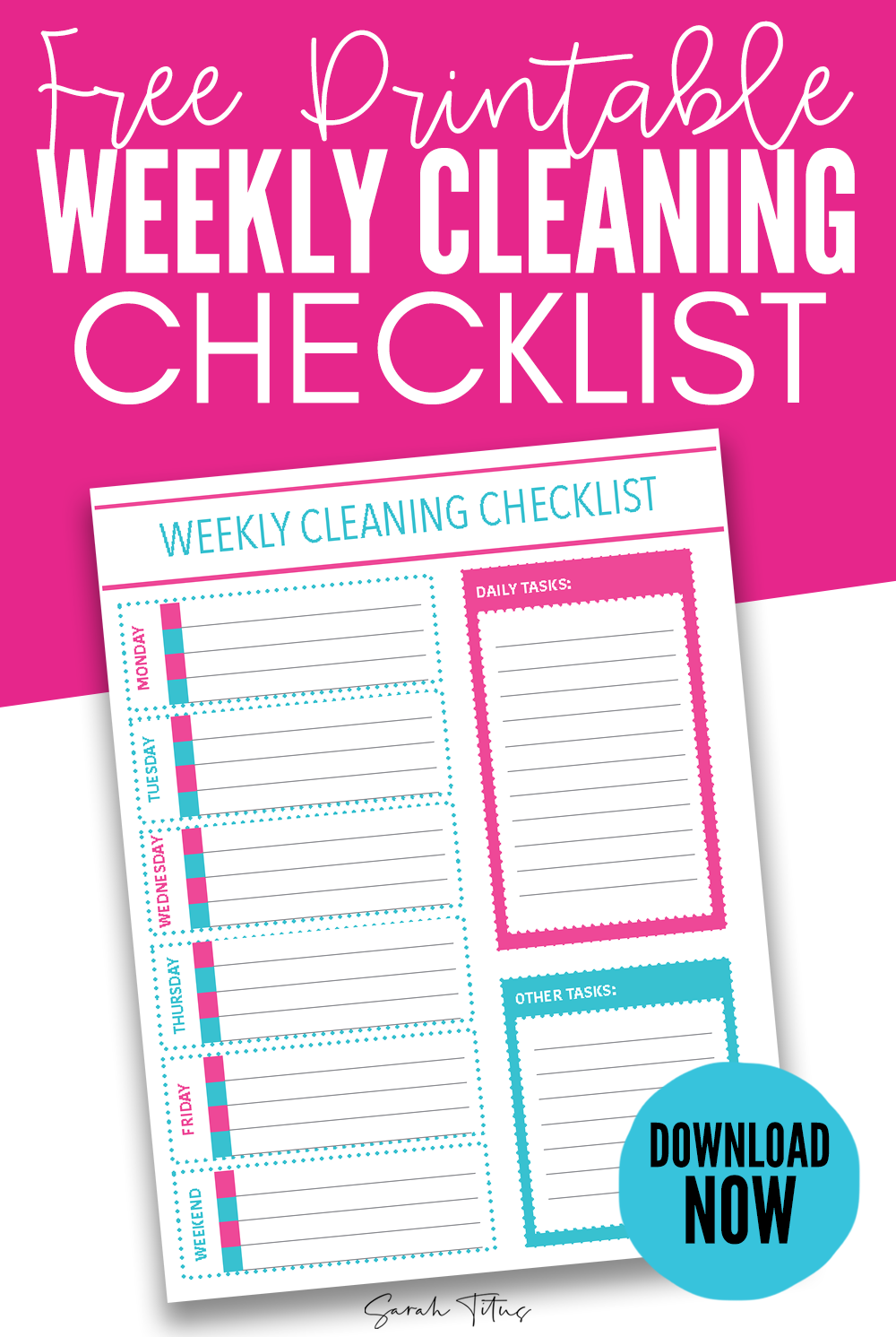 photo relating to Printable Cleaning Schedule Template known as Kf8 Descargar Totally free Printable Weekly Cleansing Listing