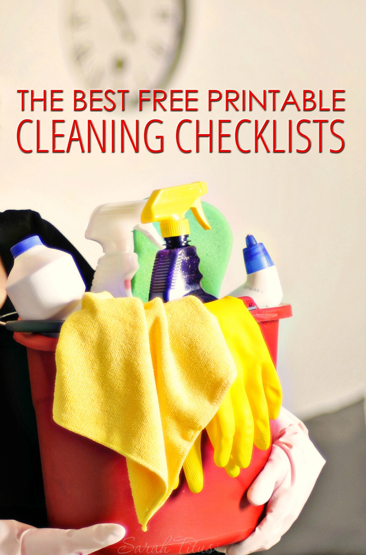 The Best Free Printable Cleaning Checklists