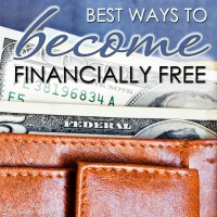 Best Ways to Become Financially Free