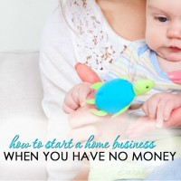 How to Start a Home Business When You Have No Money