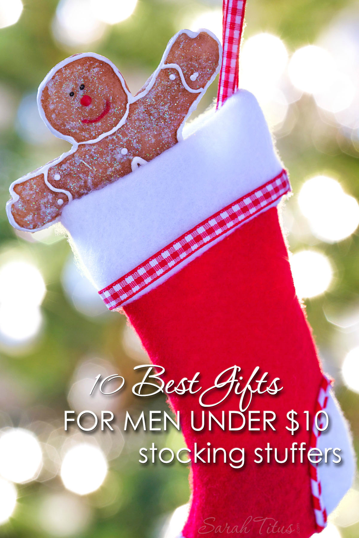 10 Best Gifts for Men Under $10 {Stocking Stuffers}