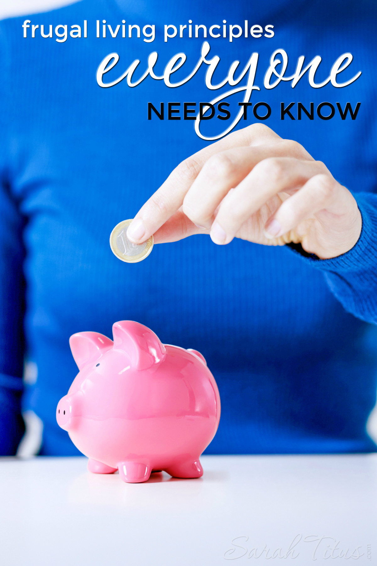 There are a lot of frugal living tips that you can read about online, but some of them may not pertain to you and your situation. Here are some universal tips and tricks that apply to everyone that you could easily start implementing now! Frugal Living Principles Everyone Needs to Know