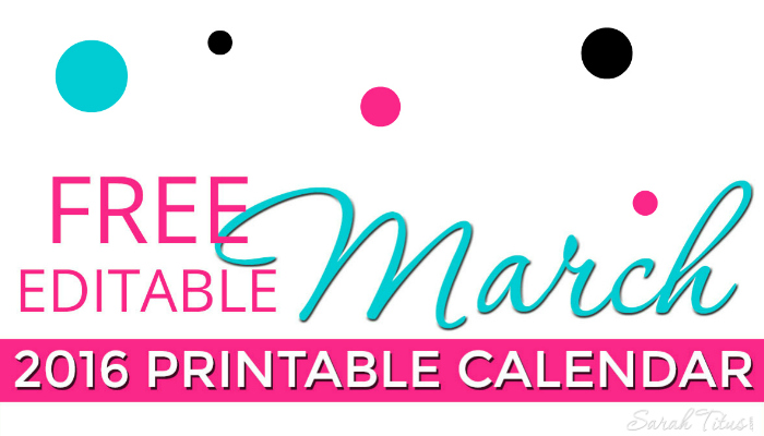 Free 2015 Printable Calendars - Completely editable online!!! Use them ...