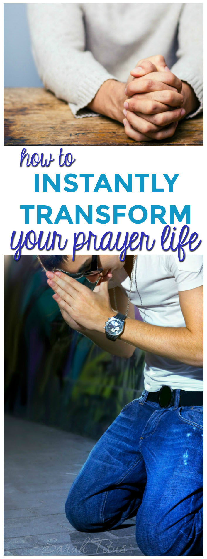 If you go to God in prayer only when you need something, you are horribly missing out! Here's how to instantly transform your prayer life for the better!