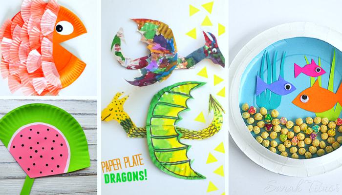 30 Cutest Toddler Paper Plate Crafts Sarah Titus
