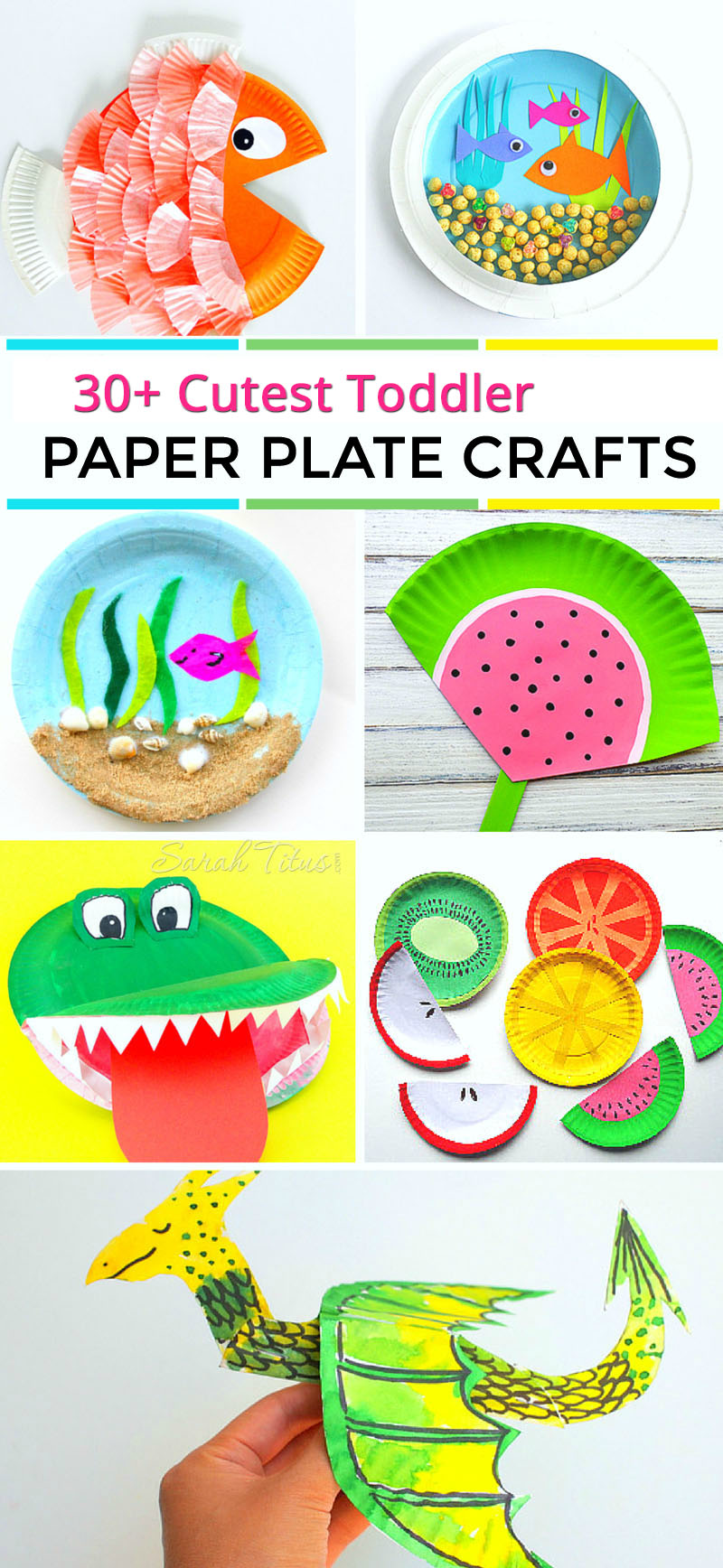 30 Cutest Toddler Paper Plate Crafts Sarah Titus