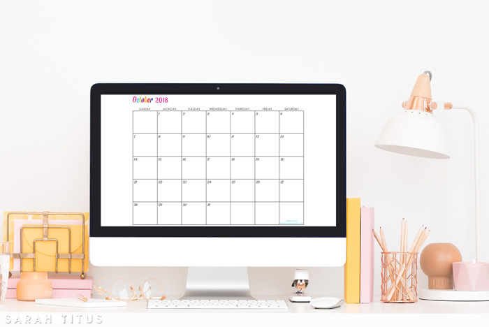 free printable 2018 calendars completely editable online use them for menu planning
