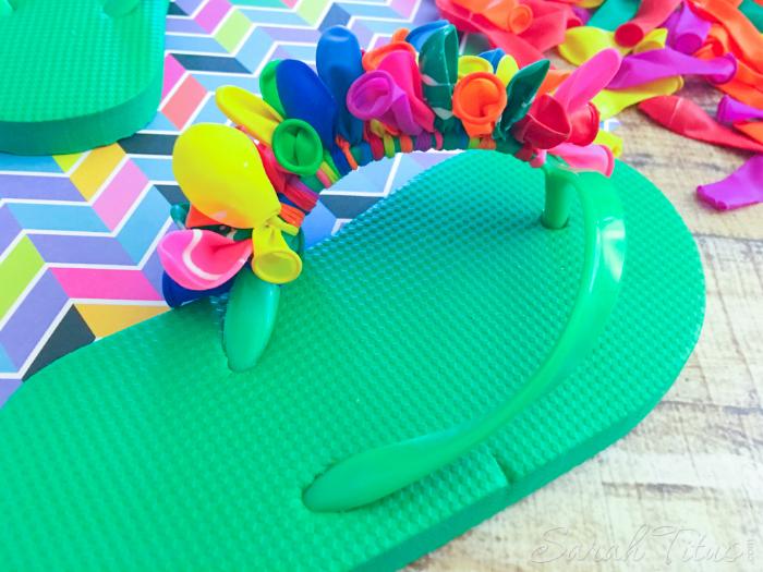 741e95a5cf71f Balloon Flip Flops - Sarah Titus