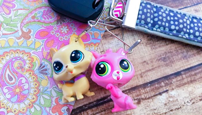 Littlest Pet Shop DIY key chain