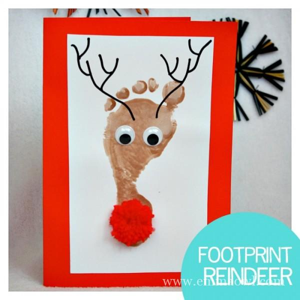 This is a great craft to make during Christmas time- it will also give you and your kids something fun to do inside when the whether outside is chilly!