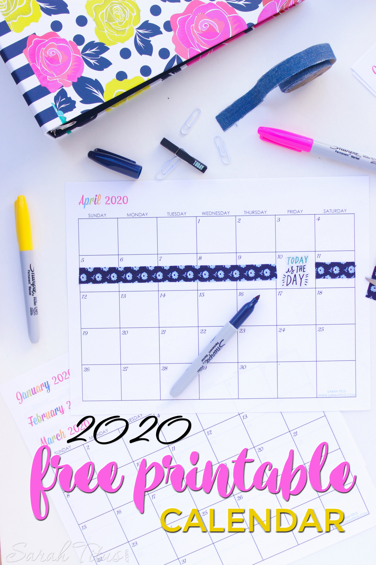 It's just an image of Terrible 2020 Printable Planner