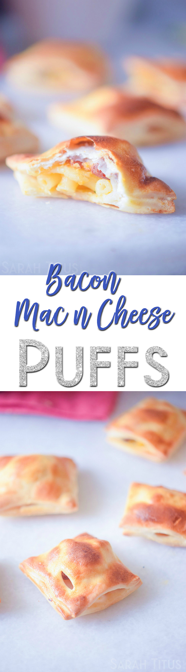 Few foods pack as much tasty goodness into one bit the way these Bacon Mac and Cheese Puffs do. These would make a fun snack for your kids or that next get-together!