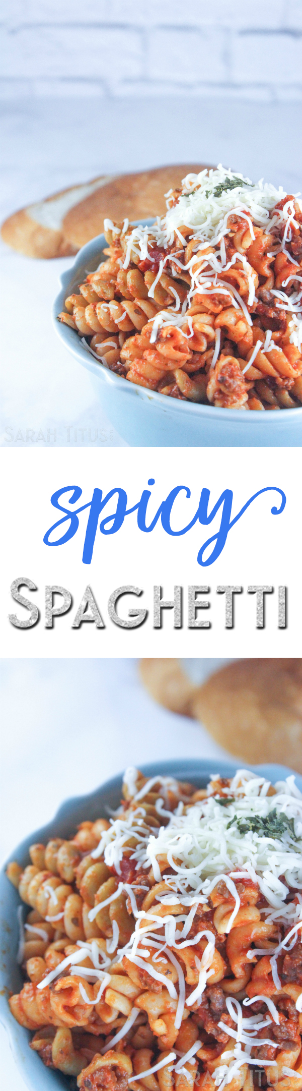 After everyone tastes my Spicy Spaghetti, hands down, every single person has agreed, it's the best they've ever had! Today I'm sharing my family secret!