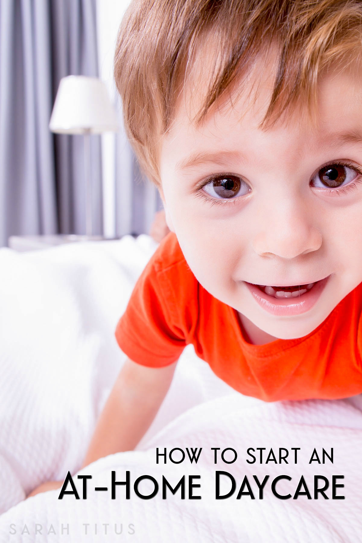 How to Start An At-Home Daycare