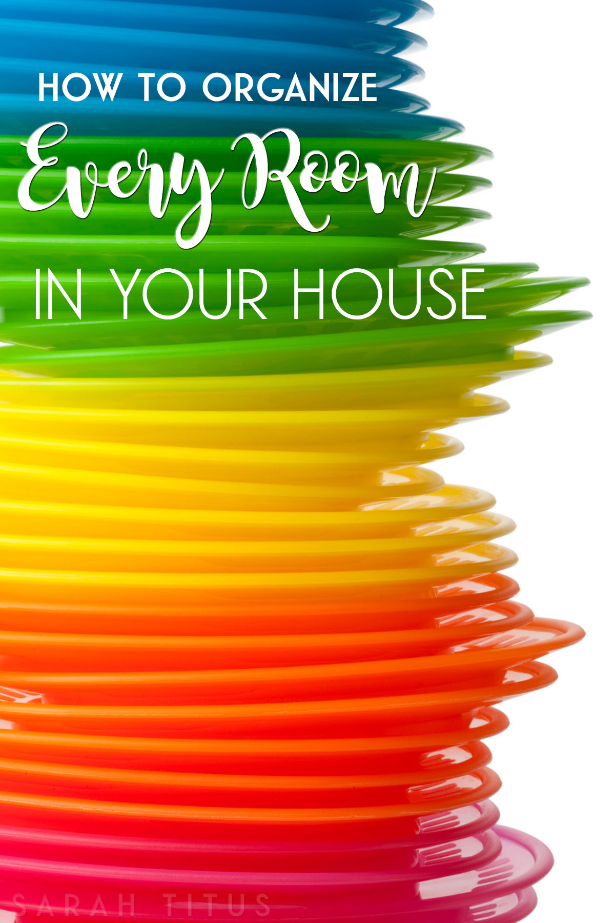 How to Organize Every Room in Your House