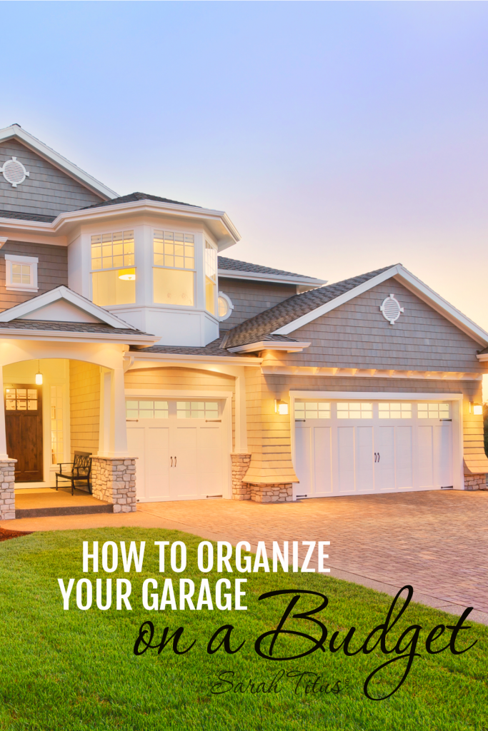 The garage is one of those places in our homes where it can easily become a catch-all for just about everything. Not only do you want to organize your garage, but you want it to be budget friendly as well. Here's how to do that on a budget with a free printable to help you remember!