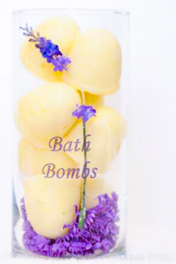 Essential Oil Bath Fizzy Bombs