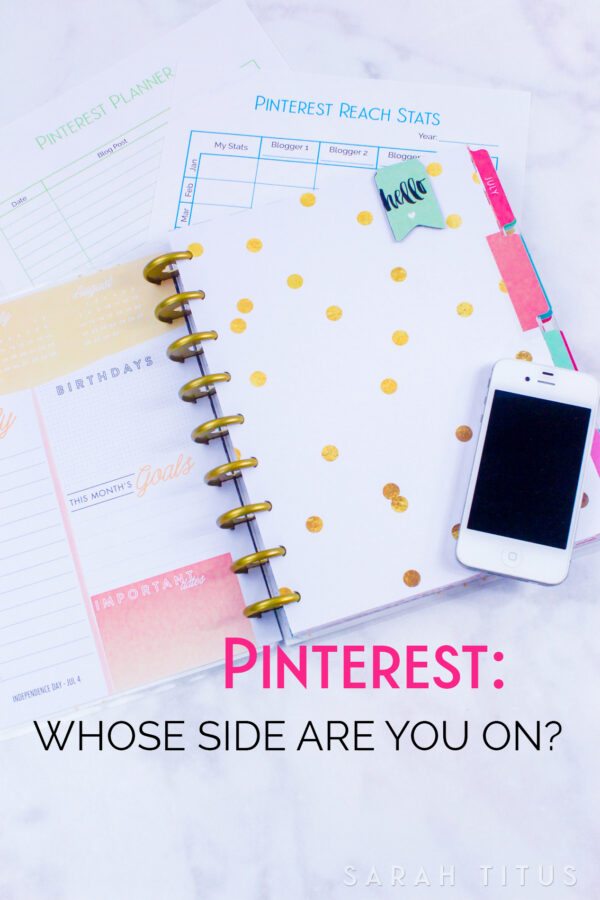 Pinterest: Whose Side Are You On?