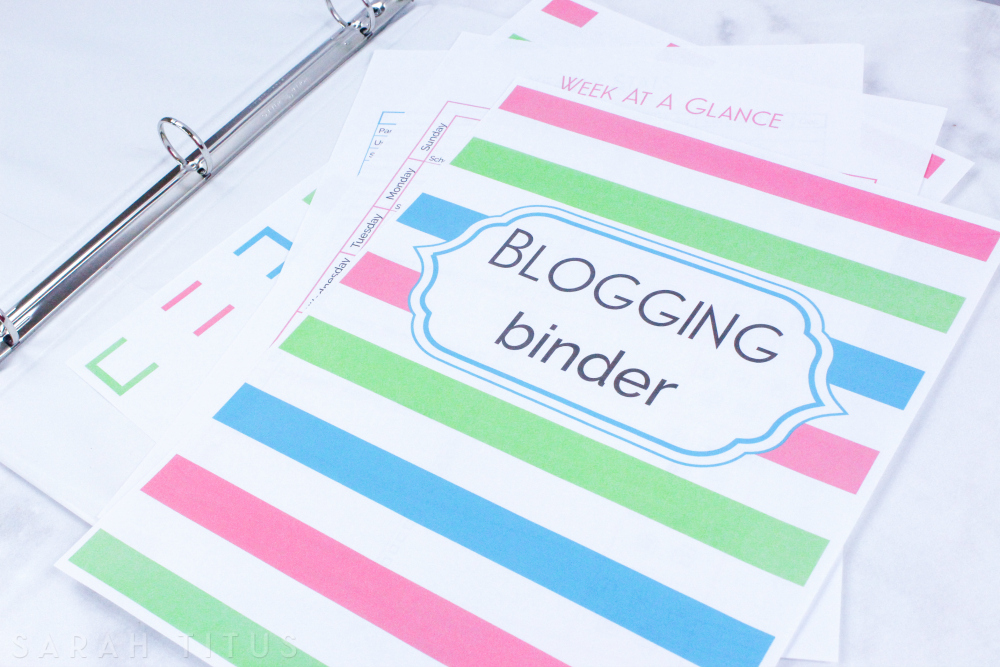 I've used many blog planners, but none of them really did what I wanted them to do. That is, until I created my OWN. At 150+ pages,  this is the one blog binder you need!